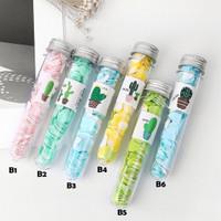 Travelling Soap Paper Tube / Tabung Sabun Cuci Tangan Kertas Cute