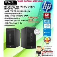 HP 285 G2 MT PC - HPQP3B70AV AMD A8-8650B/8GB/500GB/WIN10SL/1YR