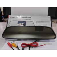 Spion Tengah + Monitor 4.3 inch untuk Monitor Kamera dan Player Video