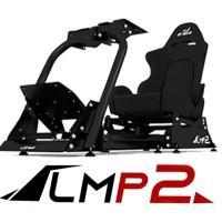 GT-Sim.ID LMP2 Racing Rig (Kurir GT-Sim.ID) - Black