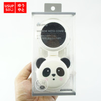 USUPSO Cermin dan Sisir Portable Animal Foldable Panda