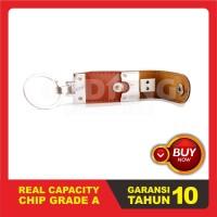 USB Flashdisk Kulit - GARANSI TUKAR BARU Souvenir Promosi | FDLT27 - Enam Belas GB