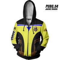 PUBG 54 Playeruknowns Battleground Jaket Hoodie Game