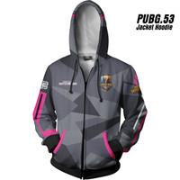 PUBG 53 Playeruknowns Battleground Jaket Hoodie Game