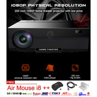 AERA LED Projector T26 3600 Lumens Proyektor T26 FHD 1920x1080p Killer