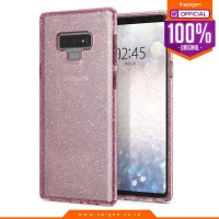 Case Galaxy Note 9 Spigen Slim Glitter Softcase Liquid Crystal Casing