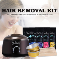 PRO-WAX 100W Wax Heater / Hair Removal Kit With 4P Waxing Beans #601