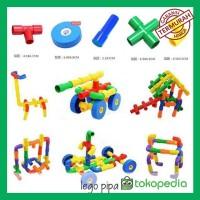NUT n BOLT/ LEGO PIPA/mainan anak edukasi/ motorik