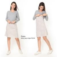 Baju Hamil Lengan Panjang Dress Hamil Dan Menyusui Fiona