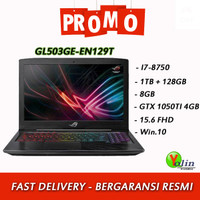 ASUS ROG STRIX GL503GE-EN129T i7-8750H 8GB 1TB+128GB GTX1050Ti W10
