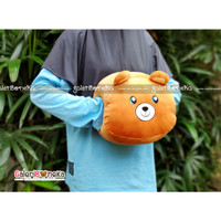 Boneka Bantal Tangan Teddy Bear ( BB - 666744 )