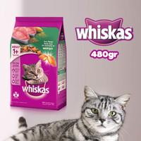 Whiskas Dry Adult 1+ Tuna Flavour 480gr