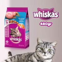 Whiskas Dry Adult 1+ Ocean Fish Flavour 480gr