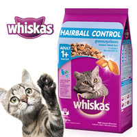 Whiskas Dry Adult 1+ Hairball Chicken & Tuna Flavour 1,1kg
