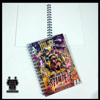 Skecth Book, Note Book, Buku Catatan Anime One Piece Stampede