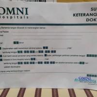 Surat Istirahat OMNI Hospital