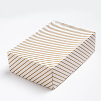 Golden Stripe Medium Box