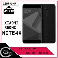 Xiaomi Redmi Note 4X 64GB RAM 3GB Garansi Distributor Platinum