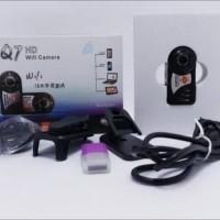 Kamera Super Mini DV Thumb Q7 HD Wifi Night Vision