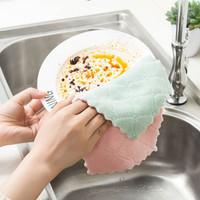 lap kain pembersih piring kompor alat dapur dishcloth cleaning hsa043