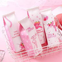 tempat pensil pink panther pencil case stp033