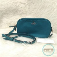 2nd COACH CROSSBODY - GREEN