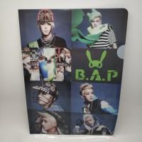 Map folder A4 plastik / plastic BAP / B.A.P import