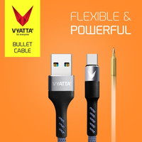 VYATTA BULLET TYPE C USB CABLE - FAST CHARGE Usb C Fast charging