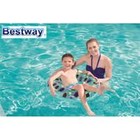 Bestway Designer Sun Bath Swim Ring 76cm Ban Pelampung Renang Anak