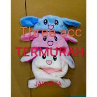 READY STOCK Bunny hat / topi kelinci twice kuping gerak GOYANG KAWAII