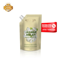 Mustika Ratu Refill Jasmine Bath & Shower Gel 500ml Sabun Mandi Cair