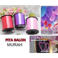 Pita Balon - Tali Balon Matte - Perlengkapan Pesta Wedding Party