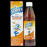 Scott's emulsion Vita Orange Flavor 400ml