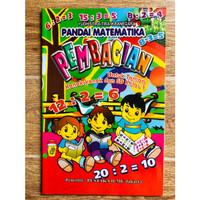 Buku Belajar Pembagian untuk Anak TK dan SD Kelas 1