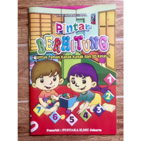 Buku TK Pintar Berhitung - Belajar Berhitung