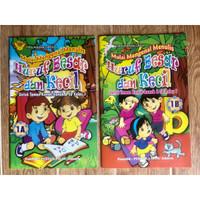 Buku TK Belajar Menulis Huruf Besar dan Huruf Kecil Jilid 1a dan 1b