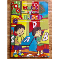 Buku TK Belajar Menulis Abjad
