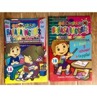 Buku TK Belajar Bahasa Inggris Jilid 1a dan 1b