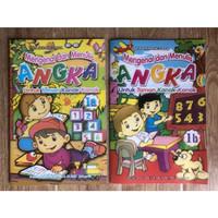 Buku TK Belajar Menulis Angka Jilid 1a dan 1b
