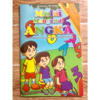 Buku TK Belajar Menulis Angka