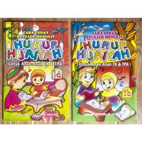 Buku TK Belajar Menulis Huruf Hijaiyah Jilid 1a dan 1b