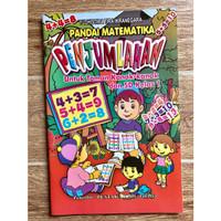 Buku Belajar Penjumlahan untuk Anak TK dan SD Kelas 1