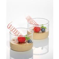 Simax Mangkok Strawberry Baking/Saus Kaca 150ml - 4pcs (5462/4)
