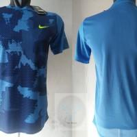 NIKE Dri-Fit Tshirt Sport Running Apparel Blue Army PREMIUM