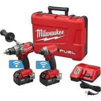 Milwaukee M18 FUEL 2-Tool One Key Hammer Drill / Impact Driver Combo
