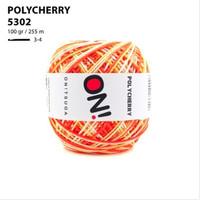 Benang Rajut Polyester Onitsuga Yarn Polycherry Ombre 5302