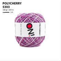 Benang Rajut Polyester Onitsuga Yarn Polycherry Ombre 5303