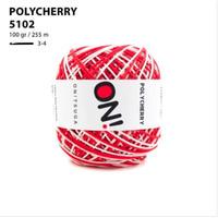 Benang Rajut Polyester Onitsuga Yarn Polycherry Ombre 5102