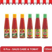Paket Mix Cabe & Tomat 135 ml Dua Belibis
