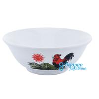 Mangkok Ayam | Mangkok Mie Ayam Jago | Mangkok Porselen 6 inch